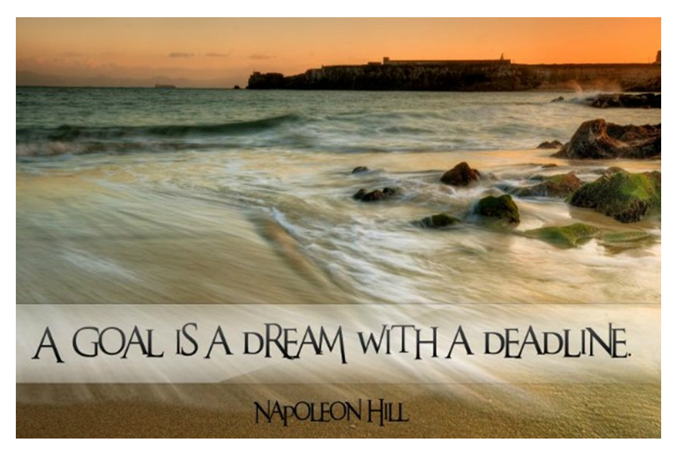 A goal is a dream